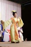 Second rôle féminin, distillateurs jinyuliangyuan d'opéra taiwanais images libres de droits