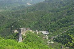 The Second Scenic Spot of Badaling Great Wall, Badaling, China Stock Image