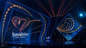 Second semifinal of Ukraine`s selection for Eurovision 2019 royalty free stock images