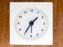 The second series of the sequence of time, 13/96 Stock Photo