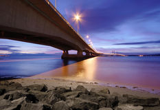 Second Severn Crossing, UK Royalty Free Stock Photos