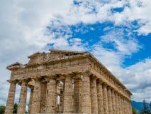 Second Temple of Hera, Paestum Royalty Free Stock Photo