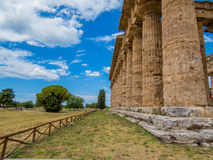 Second Temple of Hera, Paestum Royalty Free Stock Images
