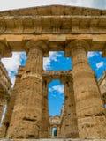 Second Temple of Hera, Paestum Stock Image