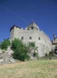 The second tower of Rocca Cesta in the Republic of San Marino. Royalty Free Stock Image