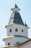 The second watchtower of the Resurrection New Jerusalem Monastery. The monastery was founded in 1656 by Patriarch Nikon, for which a plan of Moscow was to be re Stock Images