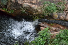 Second waterfall Royalty Free Stock Photography