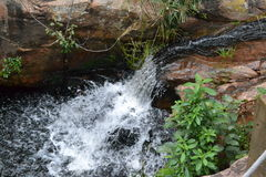 Second waterfall Stock Images