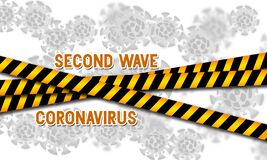 Free Second Wave Coronavirus Pandemic Outbreak Royalty Free Stock Images - 182793029