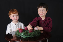 Second Week of Advent Royalty Free Stock Photos
