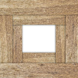 Second Wood Texture Frame Royalty Free Stock Images