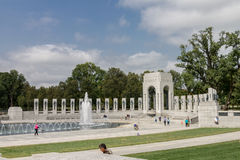 Second World War II Memorial Washington DC Royalty Free Stock Photography