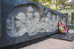 Second World War memorial Royalty Free Stock Image