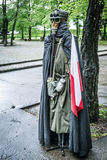 Second world war outfit at the historic Westerplatte peninsula Royalty Free Stock Image