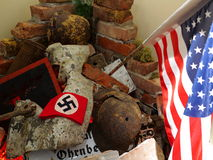 Second World War rubble remembrance Royalty Free Stock Images