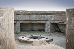 Second World War's bunker Royalty Free Stock Photography