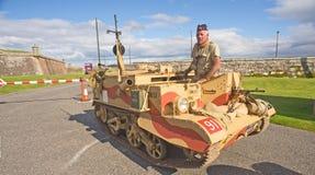 Second world war tank. Stock Image
