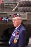 Second world war veteran Stock Image