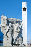 Second World War 1939-1945, Victory Memorial ,Ryazan, Russia Royalty Free Stock Images