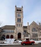 seconda chiesa congregazionalista Fotografia Stock Libera da Diritti