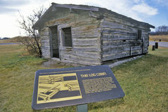 seconda città fantasma della città della gallatina, 3 forcelle, la TA ad inizio del fiume Missouri Immagini Stock