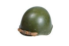 Seconda guerra mondiale sovietica del casco dell'esercito Fotografia Stock