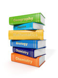 Secondary School Textbooks Royalty Free Stock Photo