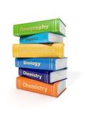 Secondary School Textbooks Royalty Free Stock Photo