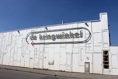 Secondhand Shop Aalst, Belgium. AALST, BELGIUM, 27 JUNE 2018: The Kringwinkel shop in Aalst, one of 350 shops in Belgium which sells donated secondhand goods royalty free stock photography
