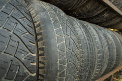 Secondhand tire Royalty Free Stock Photo