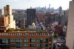 secondi Viale, vista di NYC fotografia stock