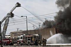 secondo fuoco II dell'allarme Fotografia Stock Libera da Diritti