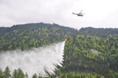 secondo pompiere internazionale Festival, Interlaken Fotografia Stock Libera da Diritti