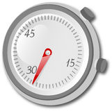 Seconds counter Royalty Free Stock Photography
