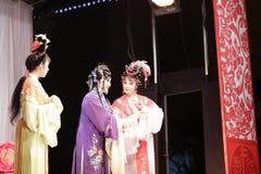 Seconds rôles féminins, distillateurs jinyuliangyuan d'opéra taiwanais image stock