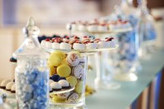 Secouez les bonbons à petits gâteaux photographie stock libre de droits