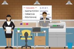 secrétaire illustration de vecteur