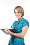 Secrétaire de sourire Photo libre de droits
