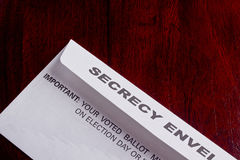 Secrecy envelope Stock Photo