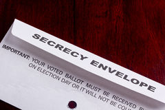 Secrecy envelope Stock Photos