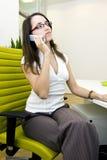 Secretária Foto de Stock Royalty Free