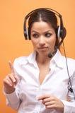 Secretária Imagem de Stock Royalty Free