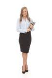 Secretária bonita sem redução Imagens de Stock Royalty Free
