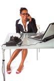 Secretária no trabalho Foto de Stock