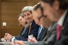 Secretário dos E.U. de estado John Kerry imagens de stock