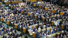 Secretário geral Ban Ki-moon do UN filme