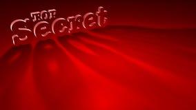 Secretísimo Imagen de archivo libre de regalías