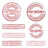 Secretísimo Fotografía de archivo libre de regalías