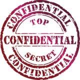 Secretísimo Foto de archivo libre de regalías