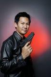 Secret agent Stock Image